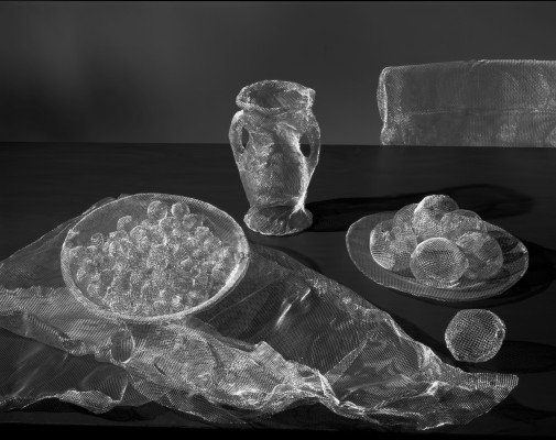 Mesh Objects (After Cezanne #3)