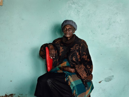 Meriam 'Mary' Tlali, who spent her entire adult life working as a maid for my grandmother, Kroonstad